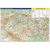 Česko – příruční vlastivědná mapa 1:1,1 mil./ obrysová mapa/46x32 cm