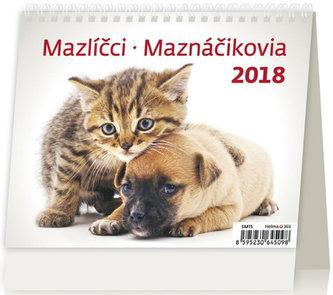 Kalendář stolní 2018 - MiniMax/Mazlíčci - neuveden