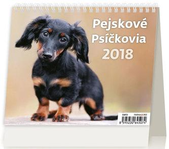 Kalendář stolní 2018 - MiniMax/Pejskové - neuveden