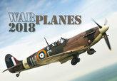 Kalendář nástěnný 2018 - Warplanes