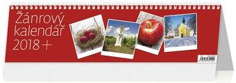 Kalendář stolní 2018 - Žánrový kalednář - neuveden