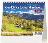 Kalendář stolní 2018 - MiniMax/České a slovenské hory