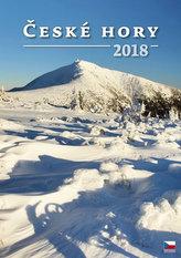 Kalendář nástěnný 2018 - České hory
