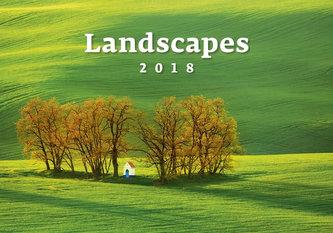 Kalendář nástěnný 2018 - Landscapes - neuveden