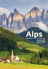 Kalendář nástěnný 2018 - Alps