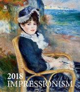 Kalendář nástěnný 2018 - Impressionism/Exclusive