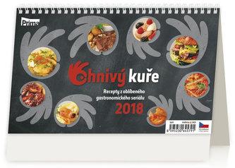 Kalendář stolní 2018 - Ohnivý kuře - neuveden
