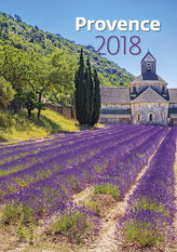 Kalendář nástěnný 2018 - Provence 450x315