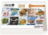 Kalendář stolní 2018 - Prima Fresh