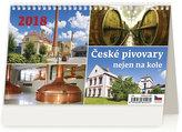 Kalendář stolní 2018 - České pivovary nejen na kole