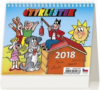 Kalendář stolní 2018 - MiniMax/Čtyřlístek - neuveden