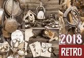 Kalendář nástěnný 2018 - Retro