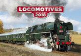 Kalendář nástěnný 2018 - Locomotives
