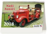Kalendář stolní 2018 - Naši hasiči