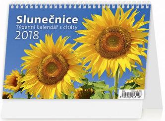 Kalendář stolní 2018 - Slunečnice - neuveden