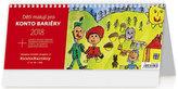 Kalendář stolní 2018 - Děti malují Konto Bariéry