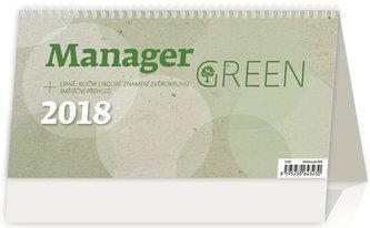 Kalendář stolní 2018 - Manager Green - neuveden