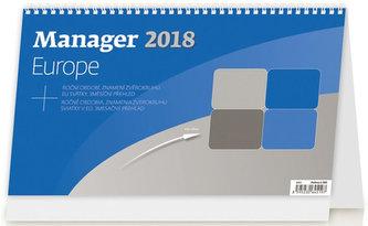 Kalendář stolní 2018 - Manager Europe - neuveden