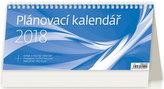 Kalendář stolní 2018 - Plánovací kalendář/modrý