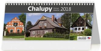 Kalendář stolní 2018 - Chalupy - Maleček Roman
