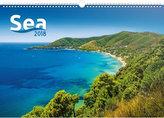 Kalendář nástěnný 2018 - Moře