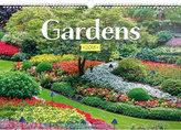Kalendář nástěnný 2018 - Zahrady