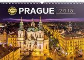 Kalendář nástěnný 2018 - Praha 18měsíční