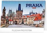 Kalendář stolní 2018 - Praha, 23,1 x 14,5 cm