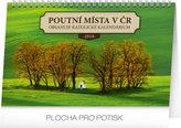 Kalendář stolní 2018 - Poutní místa v ČR , 23,1 x 14,5 cm