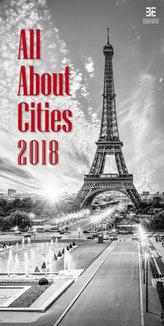 Kalendář nástěnný 2018 - All About Cities/Exclusive