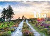 Kalendář nástěnný 2018 - Cesty