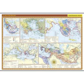 Starověké Řecko - školní nástěnná mapa/136 x 96 cm - neuveden