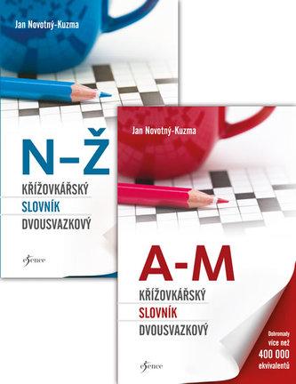 Křížovkářský slovník dvousvazkový - Novotný-Kuzma Jan