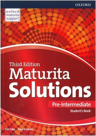 Maturita Solutions 3rd Edition Pre-Intermediate Student's Book - Tim Falla