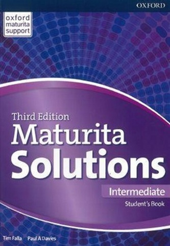 Maturita Solutions 3rd Edition Intermediate Student's Book - Tim Falla