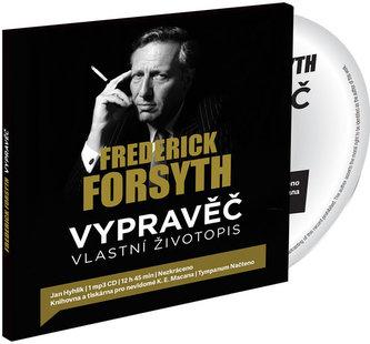 Vypravěč: Vlastní životopis - CDmp3 (Čte Jan Hyhlík) - Frederick Forsyth