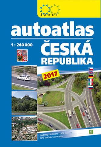 Autoatlas ČR 1:240 000 A5 2017