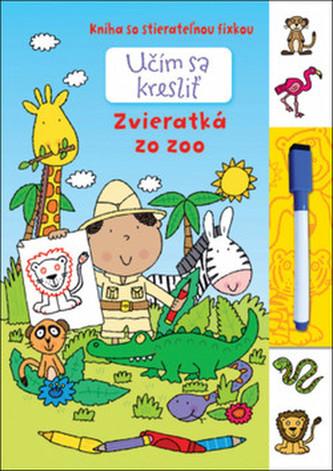 Učím sa kresliť - Zvieratká zo Zoo