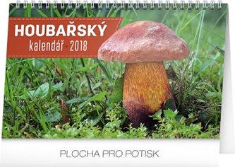 Kalendář stolní 2018 - Houbařský, 23,1 x 14,5 cm