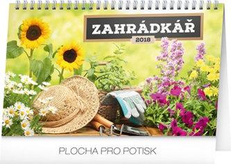 Kalendář stolní 2018 - Zahrádkář, 23,1 x 14,5 cm