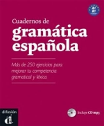 Cuadernos de gramática espanola – A1-B1 + MP3 online