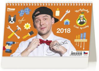 Kalendář stolní 2018 - Vychytávky Ládi Hrušky - neuveden