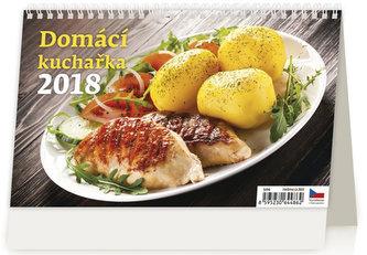 Kalendář stolní 2018 - Domácí kuchařka - neuveden