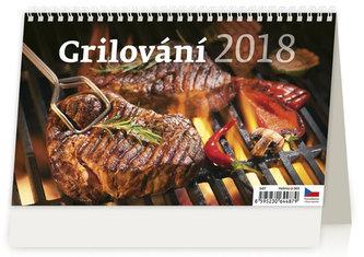 Kalendář stolní 2018 - Grilování - neuveden