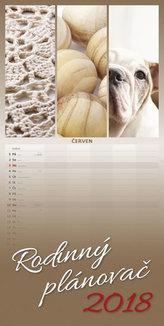 Kalendář nástěnný 2018 - Rodinný plánovač