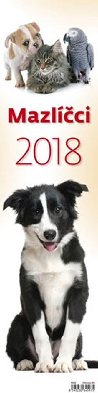 Kalendář nástěnný 2018 - Mazlíčci - neuveden