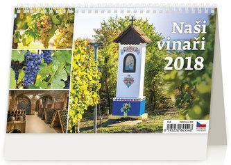 Kalendář stolní 2018 - Naši vinaři - neuveden