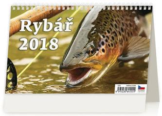 Kalendář stolní 2018 - Rybář - neuveden
