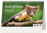 Kalendář stolní 2018 - Naše příroda