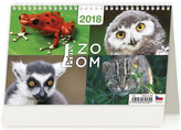 Kalendář stolní 2018 - Prima ZOOM